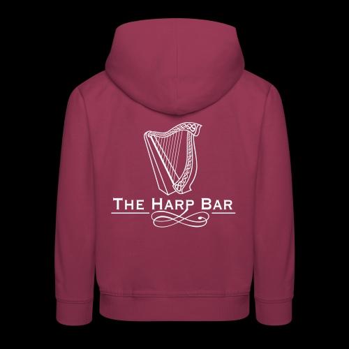 Logo The Harp Bar Paris - Pull à capuche Premium Enfant