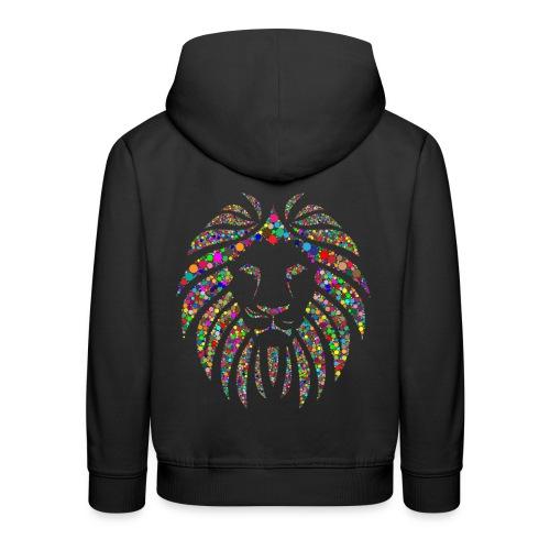Ausdruck des Löwen - Kinder Premium Hoodie