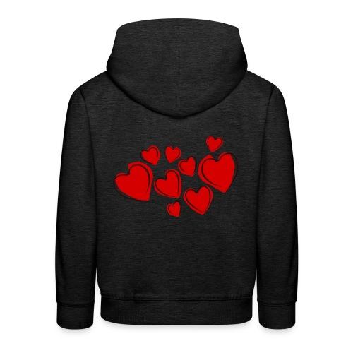 hearts herzen - Kinder Premium Hoodie
