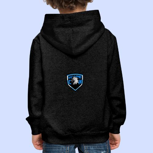 HypeCw logo (Silver) - Kids' Premium Hoodie