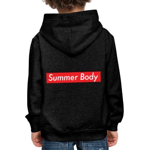 Summer Body - Pull à capuche Premium Enfant