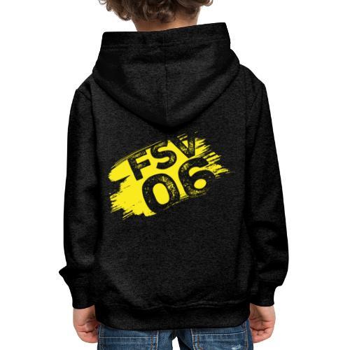 Hildburghausen FSV 06 Graffiti gelb - Kinder Premium Hoodie