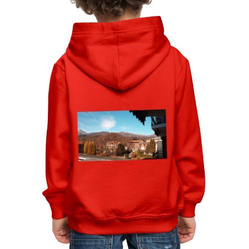Paese - Felpa con cappuccio Premium per bambini