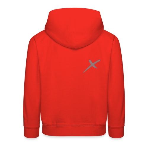 X-Clothing v0.1 - Sudadera con capucha premium niño