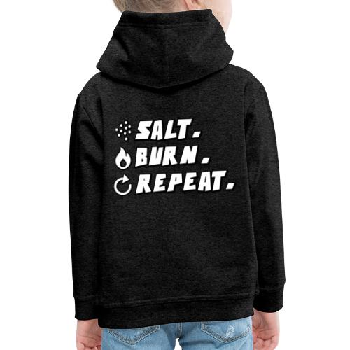 Salt Burn Repeat Supernatural Comic T-Shirt - Kinder Premium Hoodie