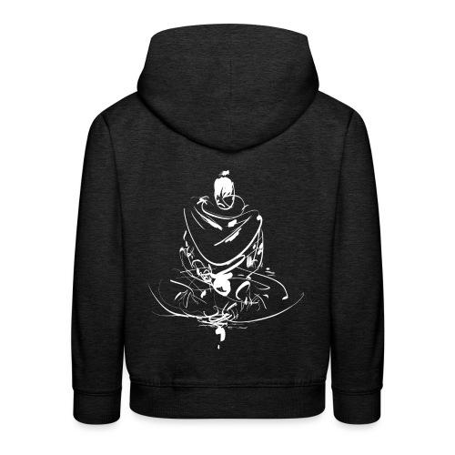 Iaido Samurai Zen Meditation - Kids' Premium Hoodie