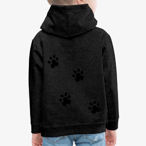 cat - Bluza dziecięca z kapturem Premium