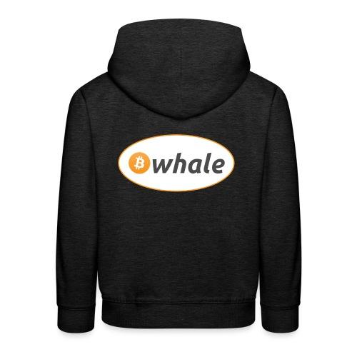 Bitcoin Whale - Kids' Premium Hoodie