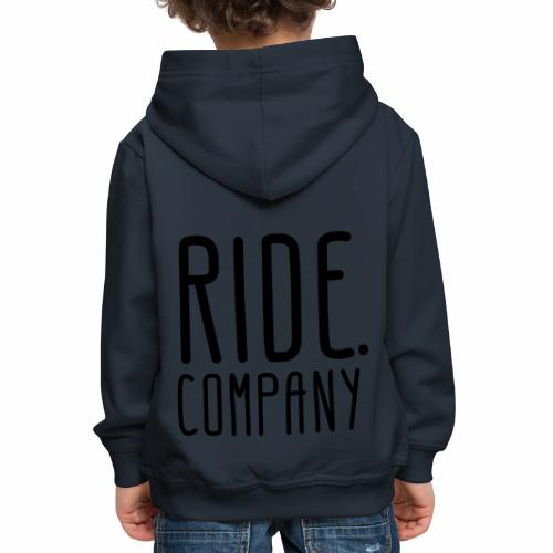 RIDE.company - just RIDE - Kinder Premium Hoodie