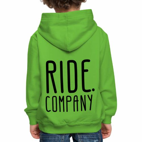 RIDE.company - just RIDE - Kinder Premium Hoodie