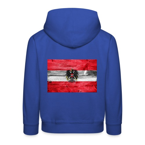 Austria Holz - Kinder Premium Hoodie