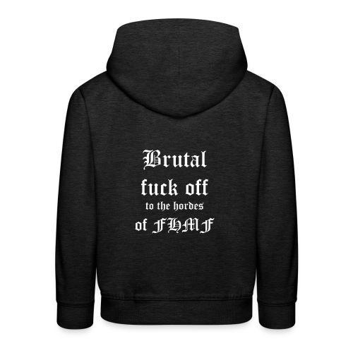 brutalfuckoff - Lasten premium huppari