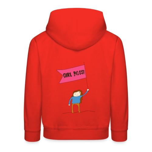 Gurl boss - Sudadera con capucha premium niño