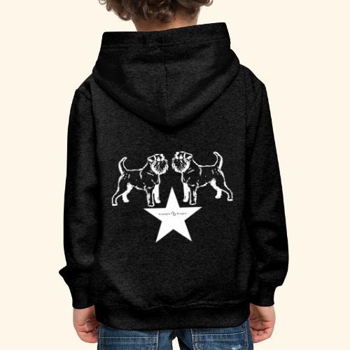 Brussels Griffon star - Pull à capuche Premium Enfant