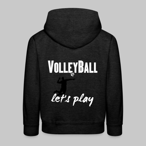 Volleyball let's play Sport 2reborn - Kinder Premium Hoodie