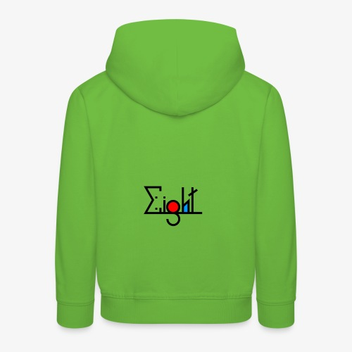EIGHT LOGO - Pull à capuche Premium Enfant