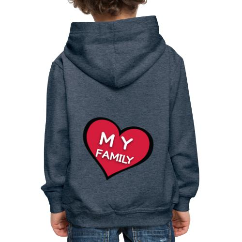 My Family - Pull à capuche Premium Enfant