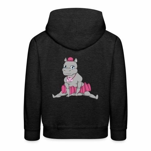 Little Big Hippo - Pull à capuche Premium Enfant