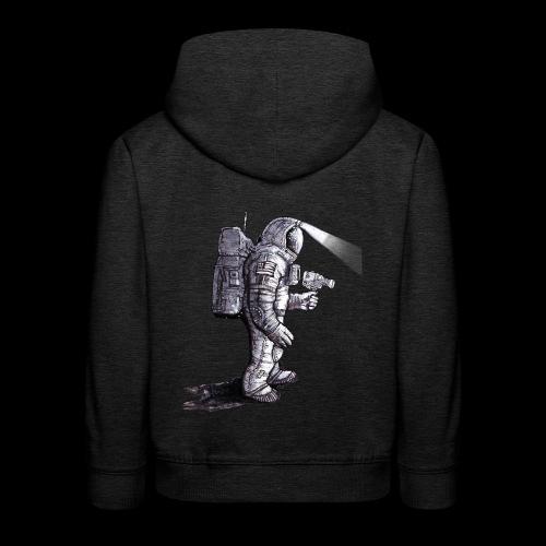 Lost Astronaut - Kids' Premium Hoodie