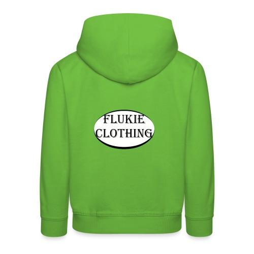 White Logo - Kids' Premium Hoodie