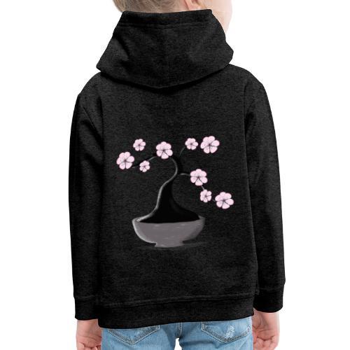 Kirschblueten Bonsai - Kinder Premium Hoodie