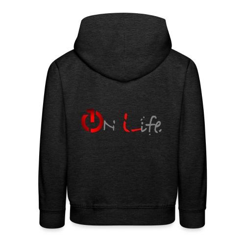 OnLife Logo - Pull à capuche Premium Enfant