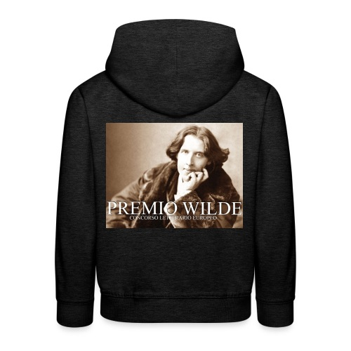 Wilde european award - Felpa con cappuccio Premium per bambini