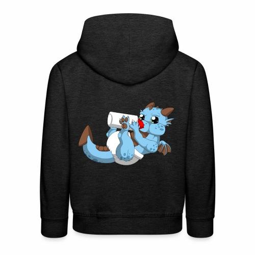Little Big Dragon - Pull à capuche Premium Enfant
