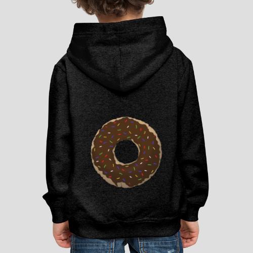 Wähle deinen Donut - Schoko | für Alle - Kinder Premium Hoodie