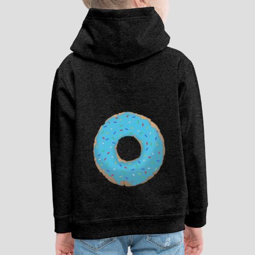 Wähle deinen Donut - Blau | für Männer und Frauen - Kinder Premium Hoodie