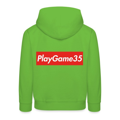PlayGame35 - Felpa con cappuccio Premium per bambini