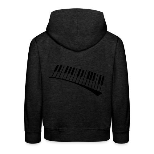 Piano - Sudadera con capucha premium niño