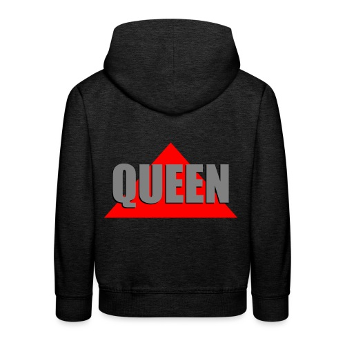 Queen, by SBDesigns - Pull à capuche Premium Enfant