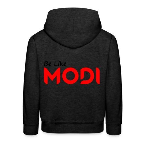 Be Like MoDi - Bluza dziecięca z kapturem Premium