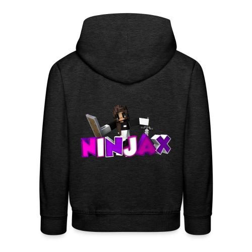 ninjax minecraft - Kinderen trui Premium met capuchon