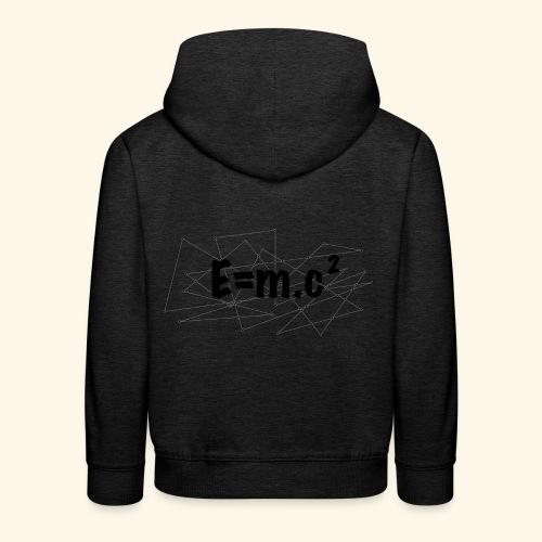 e=m.c^2 - Pull à capuche Premium Enfant