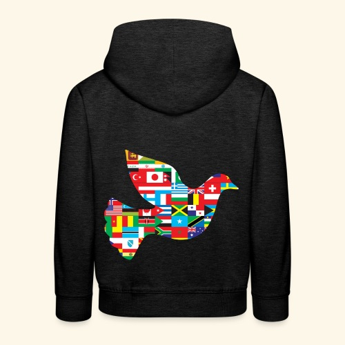 countrys t-shirt - Sudadera con capucha premium niño