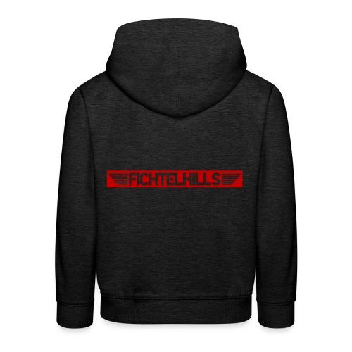 Fichtelhills Wings red - Kinder Premium Hoodie