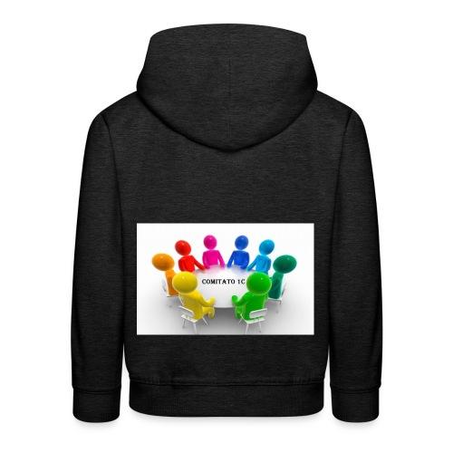 comitato 1c - Felpa con cappuccio Premium per bambini