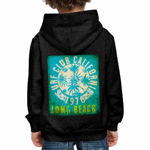 Long Beach Surf Club California 1976 Gift Idea - Kids' Premium Hoodie