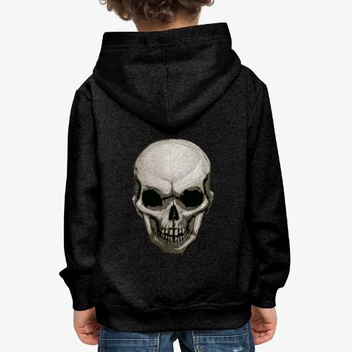 Crâne - Pull à capuche Premium Enfant