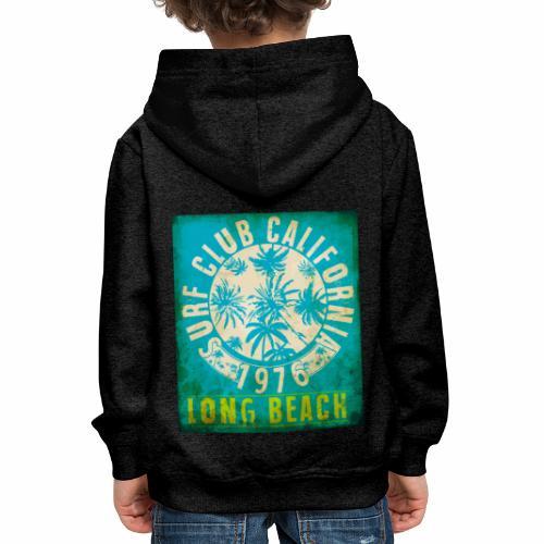 Long Beach Surf Club California 1976 Gift Idea - Kids' Premium Hoodie