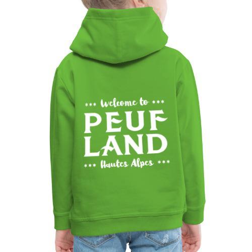 Peuf Land 05 - Hautes-Alpes - White - Pull à capuche Premium Enfant