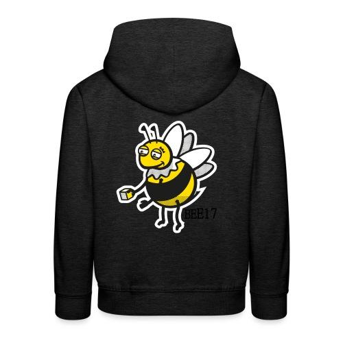 Teeny Tiny East End Bee - Kids' Premium Hoodie