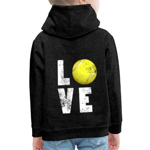 LoveTennis Shirt Ideal Gift For Tennis Players - Sudadera con capucha premium niño