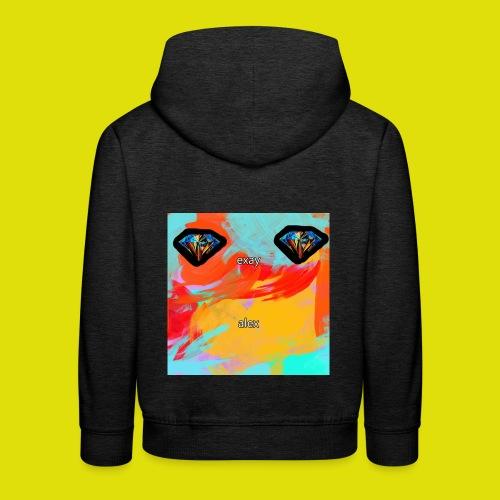 grey hoodie youtube logo - Kids' Premium Hoodie