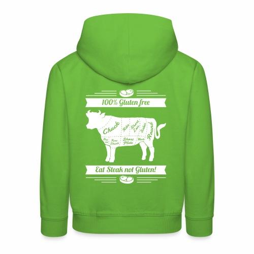 Lustiges Design für Fleisch-Fans - Kinder Premium Hoodie