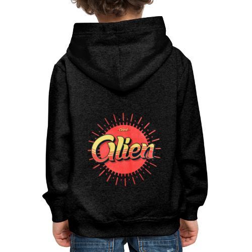 Alien Vintage Logo - Premium Barne-hettegenser