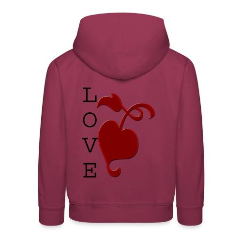 Love Grows - Kids' Premium Hoodie