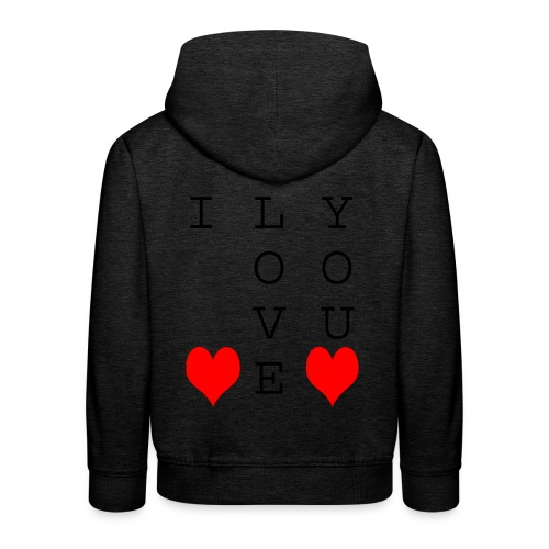 I Love You - Kids' Premium Hoodie